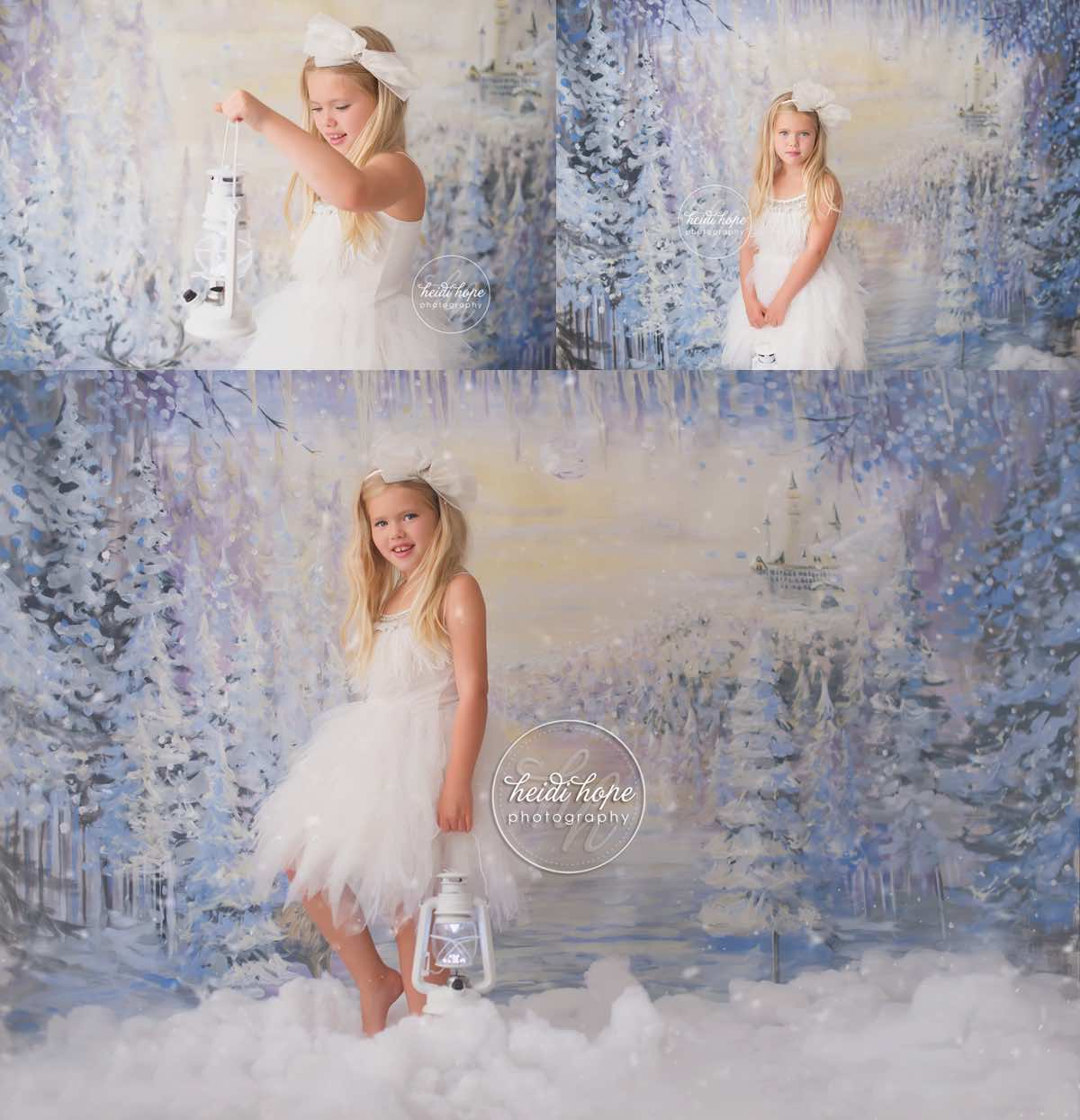 heidi hope backdrop frozen winter wonderland mini session with tutudumonde and snow 1