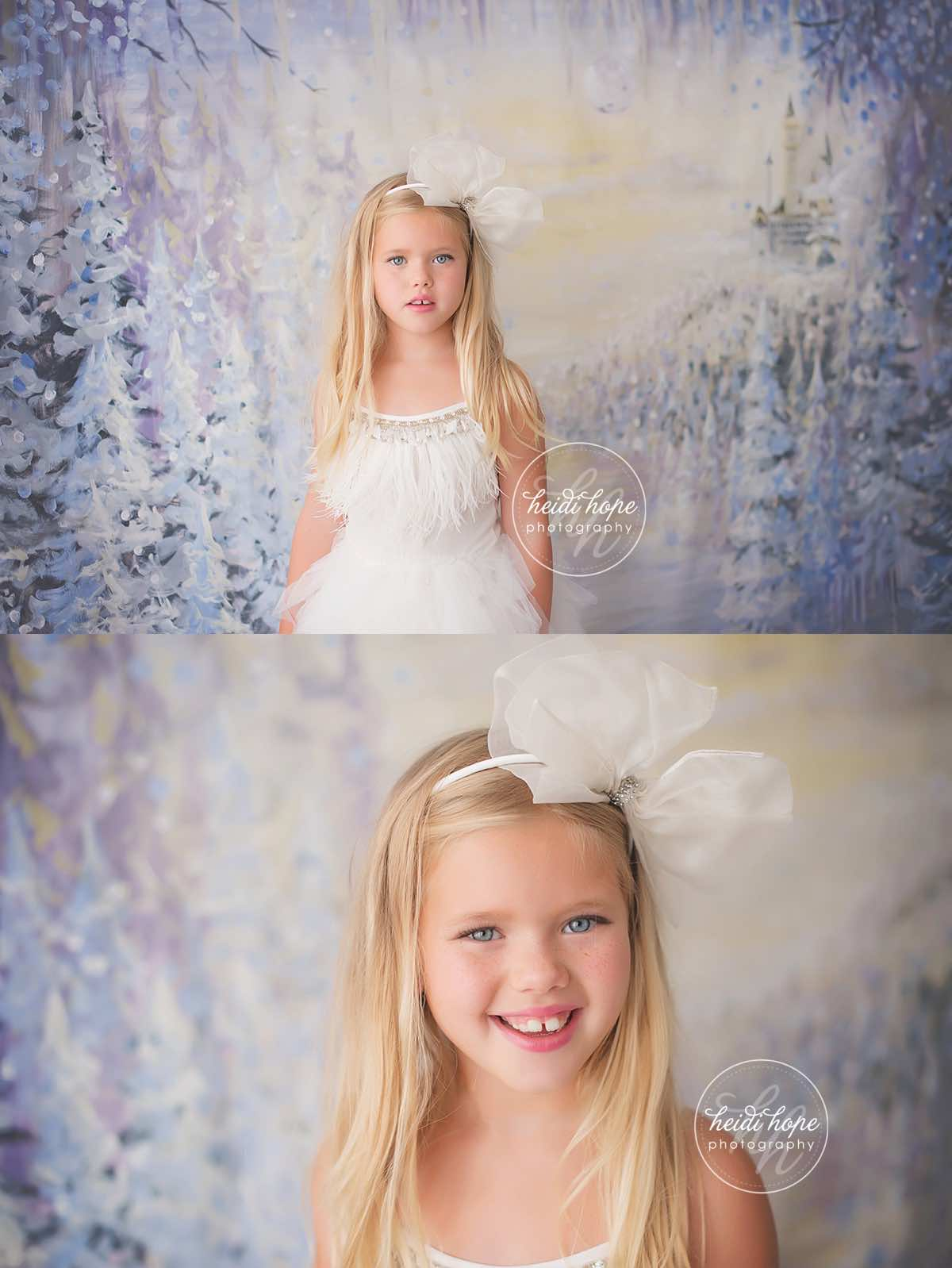heidi hope backdrop frozen winter wonderland mini session with tutudumonde and snow 2
