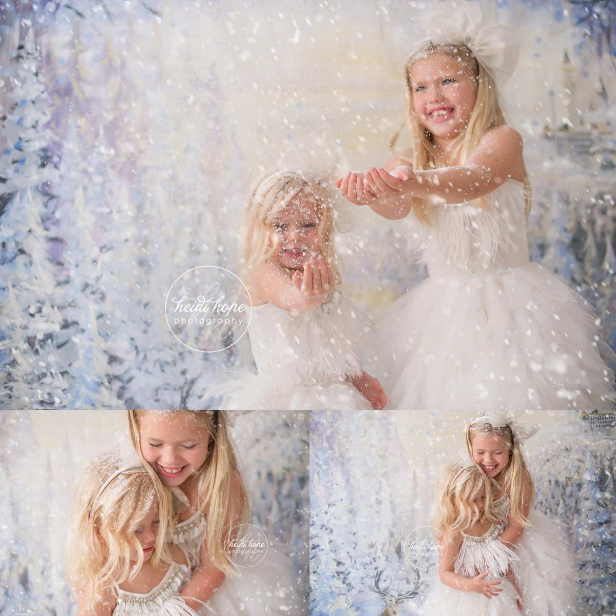 heidi hope backdrop frozen winter wonderland mini session with tutudumonde and snow 3