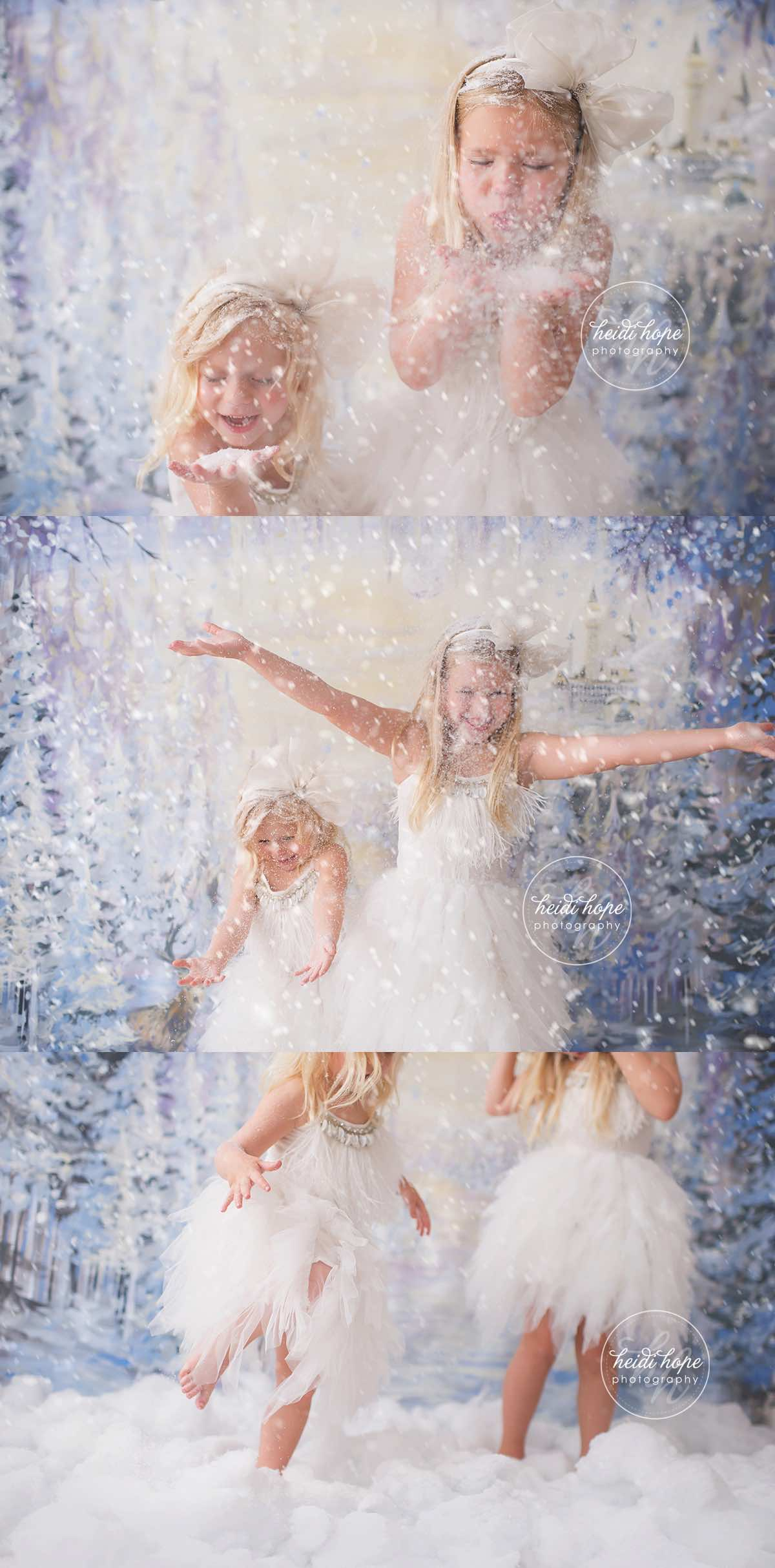heidi hope backdrop frozen winter wonderland mini session with tutudumonde and snow 6