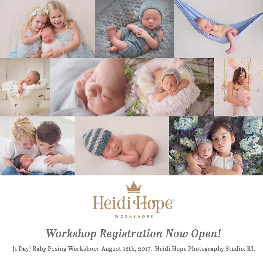 heidi hope 2017 one day workshop learn baby posing and baby business
